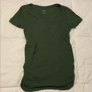 Maternity t shirt with side rouching